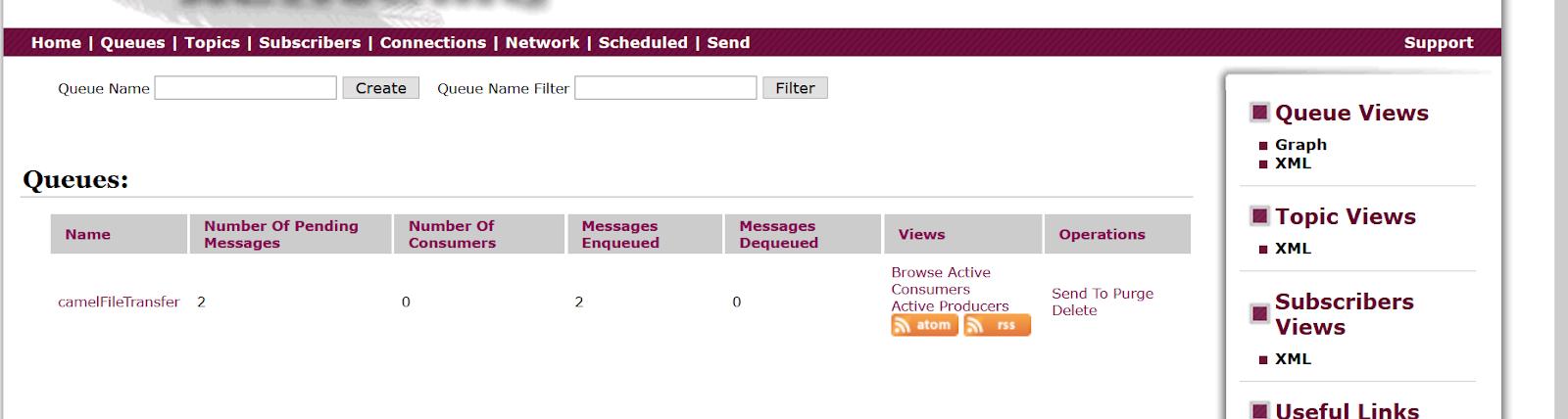 Programming for beginners: Apache camel: Sending files from