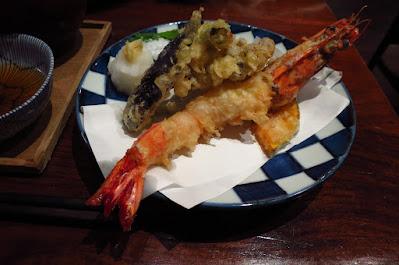 Japanese Restaurant Suju, tempura