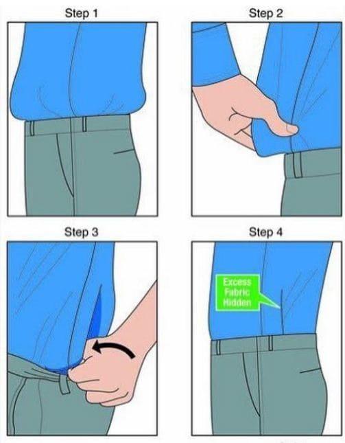 9c42b502f قد يضطر بعض الرجال إلى إدخال القميص في السروال، وهذه الحالة تنطبق أكثر عند  ارتداء الملابس الكلاسيكية، ولكن قد يقع البعض منهم في هذه المشكلة، وهي إدخال  ...