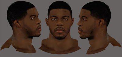 NBA 2K14 Joe Johnson Cyberface Mod