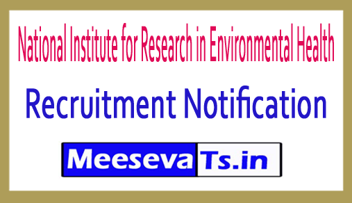 National Institute for Research in Environmental Health NIREH Recruitment