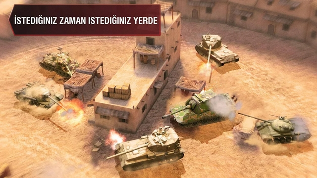 World of Tanks Blitz Hileli Apk indir
