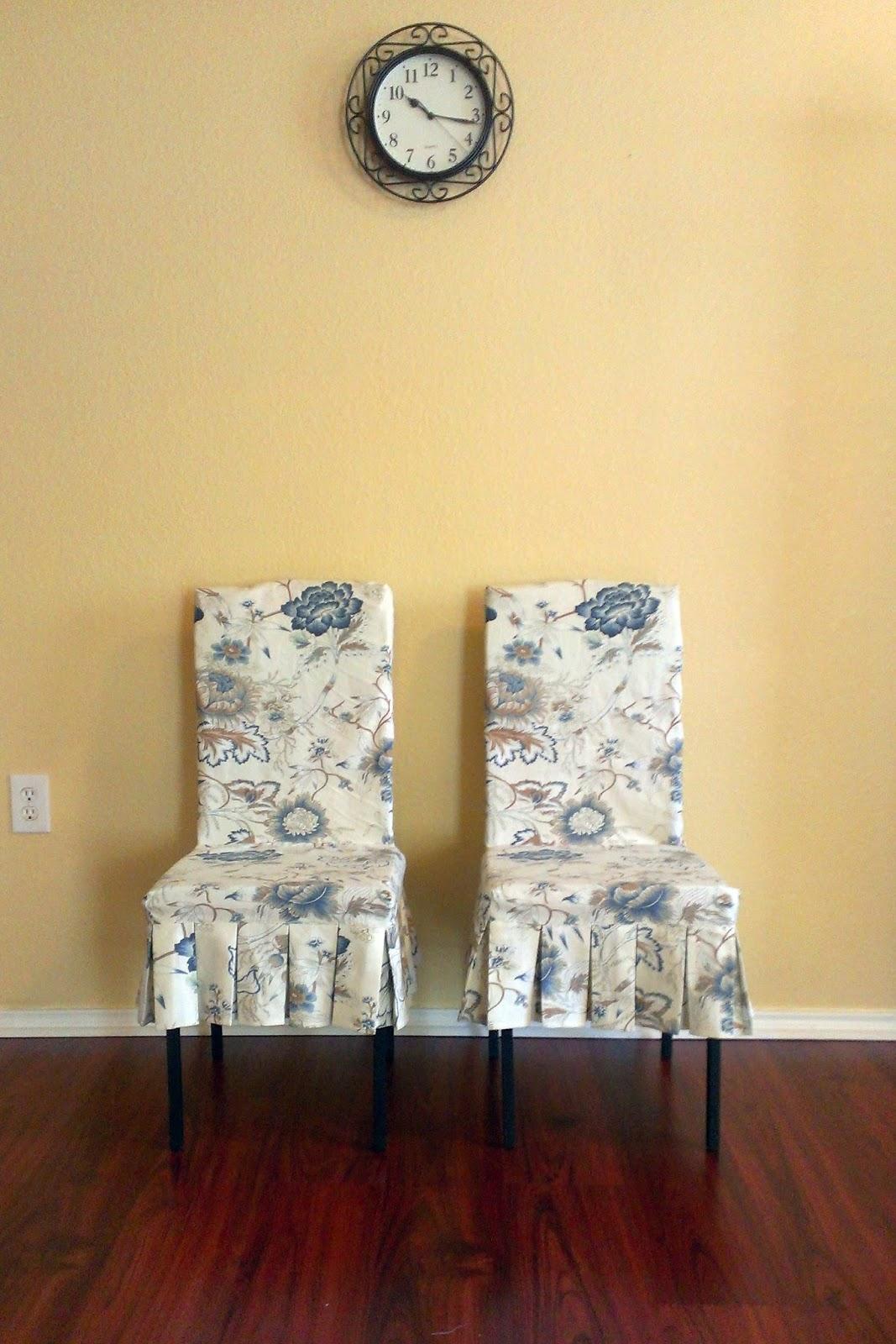 Aux Belles Choses Diy Chair Covers Amp Decor