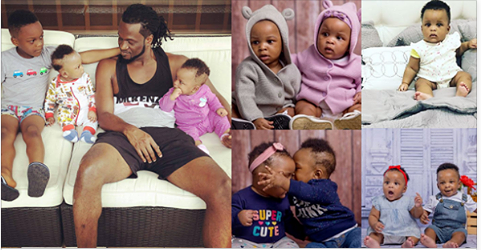 Image result for paul okoye and his twins