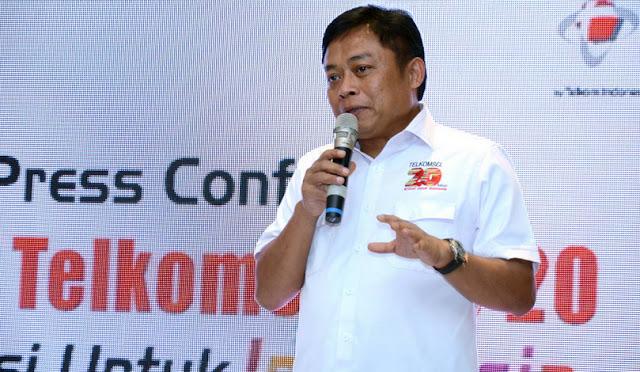 Pernyataan Direktur Telkomsel soal tarif Internet