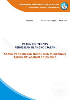 cover juknis penulisan ijazah 2016