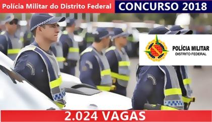 Concurso PM-DF 2018 Soldado