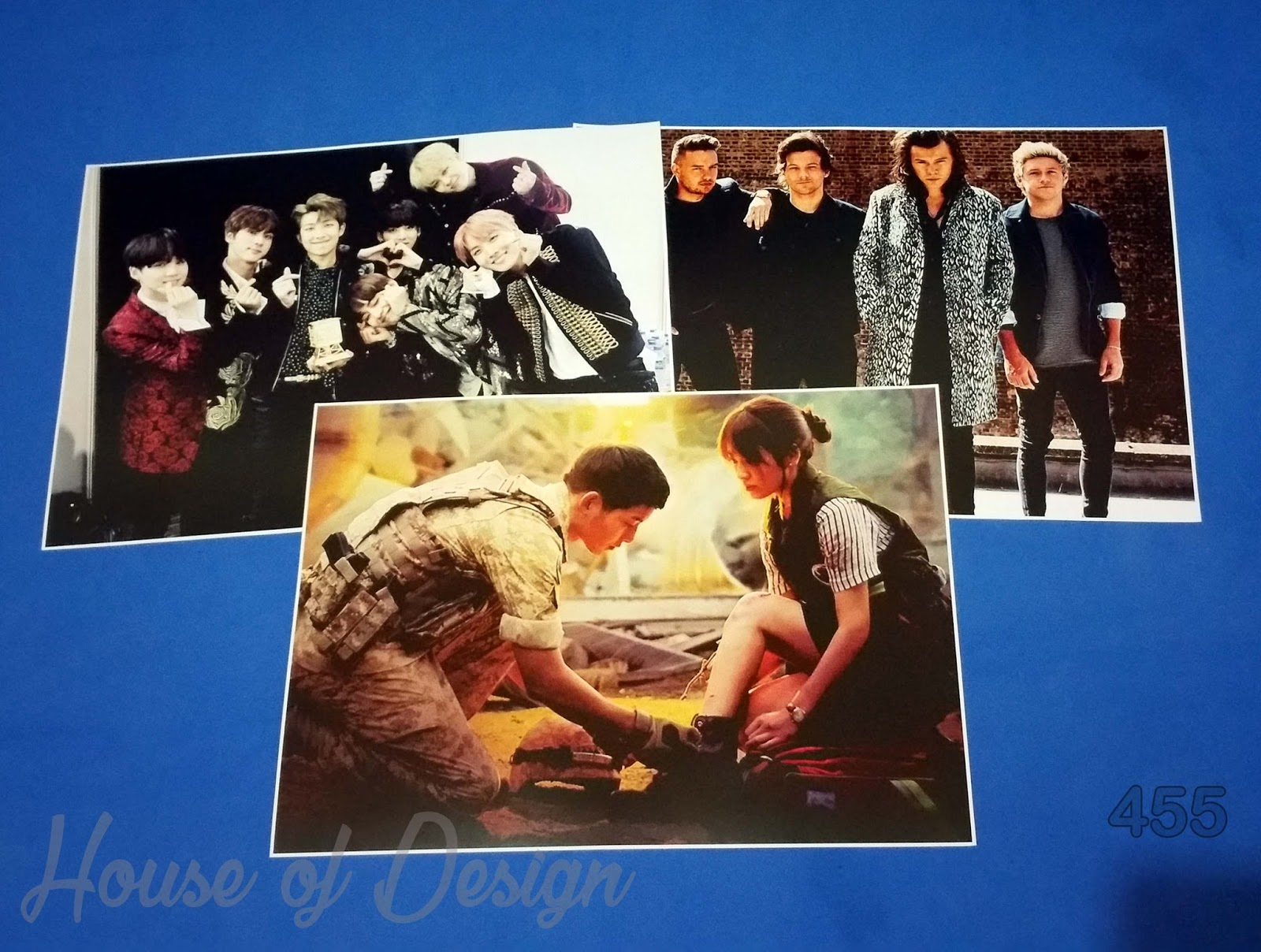 POSTER BTS, POSTER ONE DIRECTION, POSTER DESCENDANTS OF THE SUN UKURAN POSTER A4