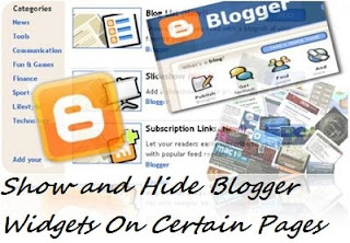How-to-Show-and-Hide-Blogger-Widgets-On-Certain Pages