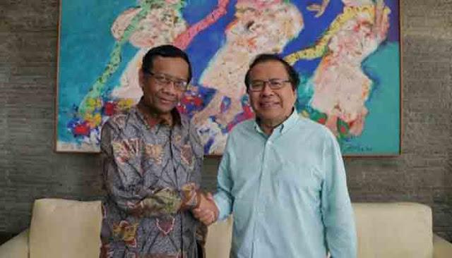 Mahfud MD Ditanya Kenapa Rizal Ramli dan Sudirman Said Dipecat Jokowi, Begini Jawabnya
