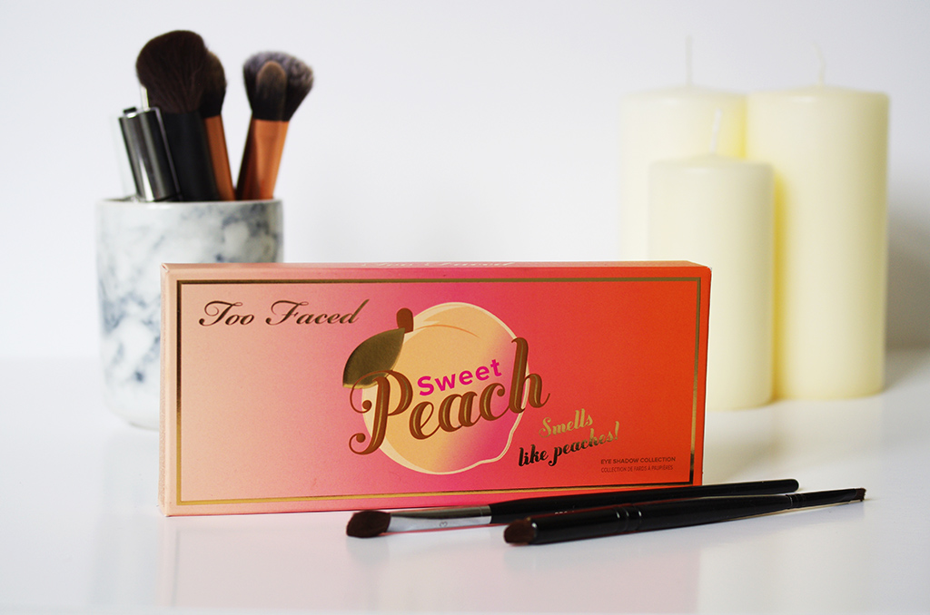 Elizabeth l Too Faced Sweet Peach eye shadow palette review l new makeup Sephora fards à paupères maquillage l THEDEETSONE l http://thedeetsone.blogspot.fr