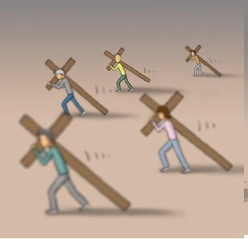 Hasil gambar untuk gambar penderitaan orang-orang Kristen