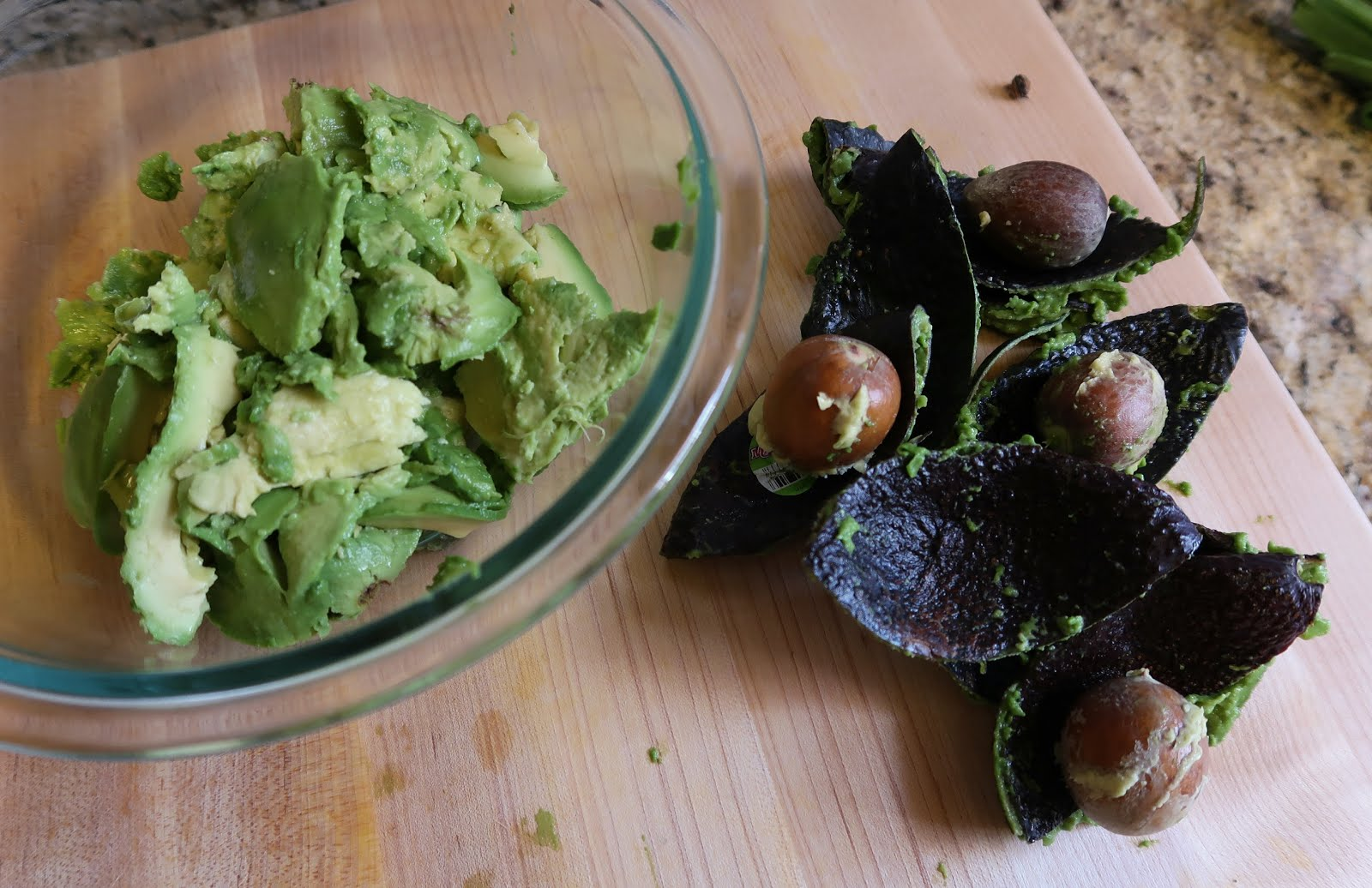 guacamole avocado recipe mash cutting pit