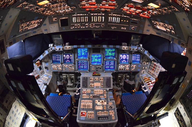 space shuttle original cockpit - photo #25