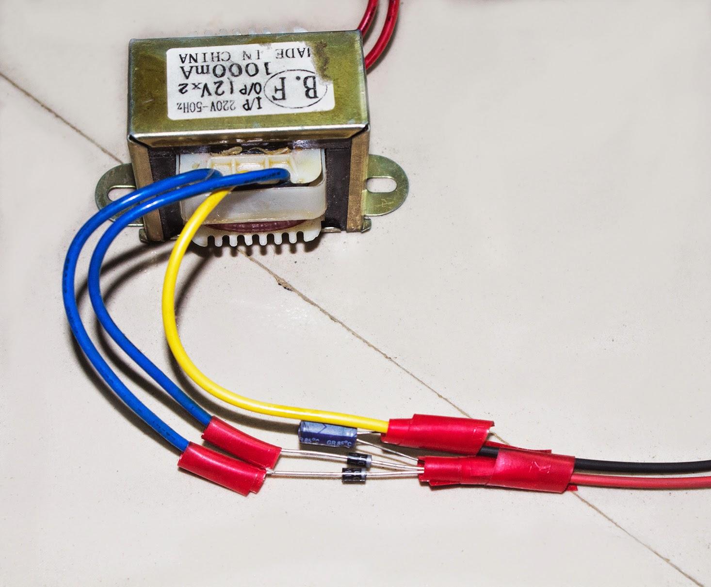 step down transformer diagram fuse block wiring scavenger 39s blog ac to dc circuit 1 hobby electronics