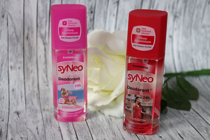 Bloody testet: syNeo Aura Deodorant Pumpspray in den Sorten Passion ...