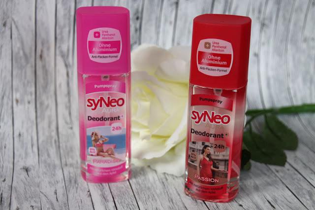 Testpaket mit zwei syNeo Aura Deodorants (Passion & Paradise)