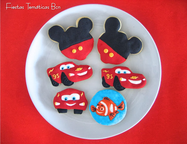 GALLETAS CARS, MICKEY, NEMO
