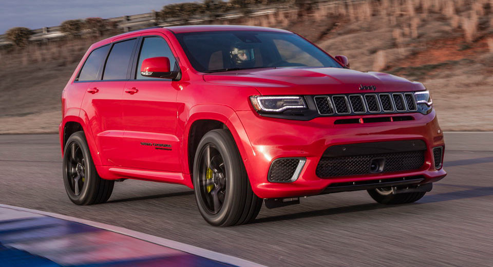707hp 2018 jeep grand cherokee trackhawk priced from 86 995. Black Bedroom Furniture Sets. Home Design Ideas