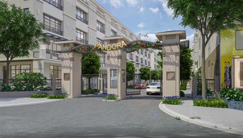 Pandora - nhà phố vườn cho mọi nhà