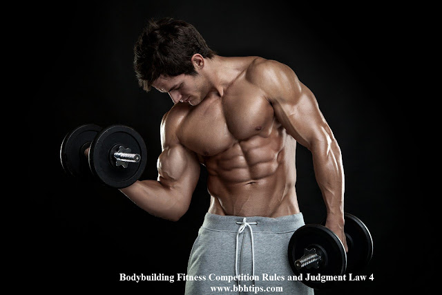 Bodybuilding Fitness Competition Rules Judgment Law 4