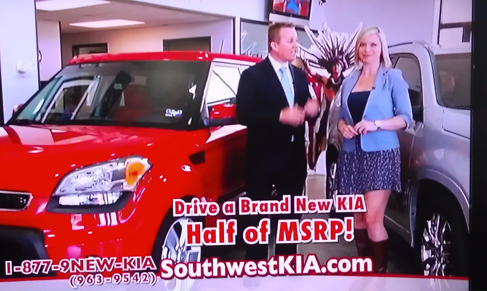 What Would Cubes Do?: Is It Just Me or Is the Southwest Kia Girl