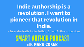 "image reads:  ""Indie authorship is a revolution.  I want to pioneer that revolution in India."""