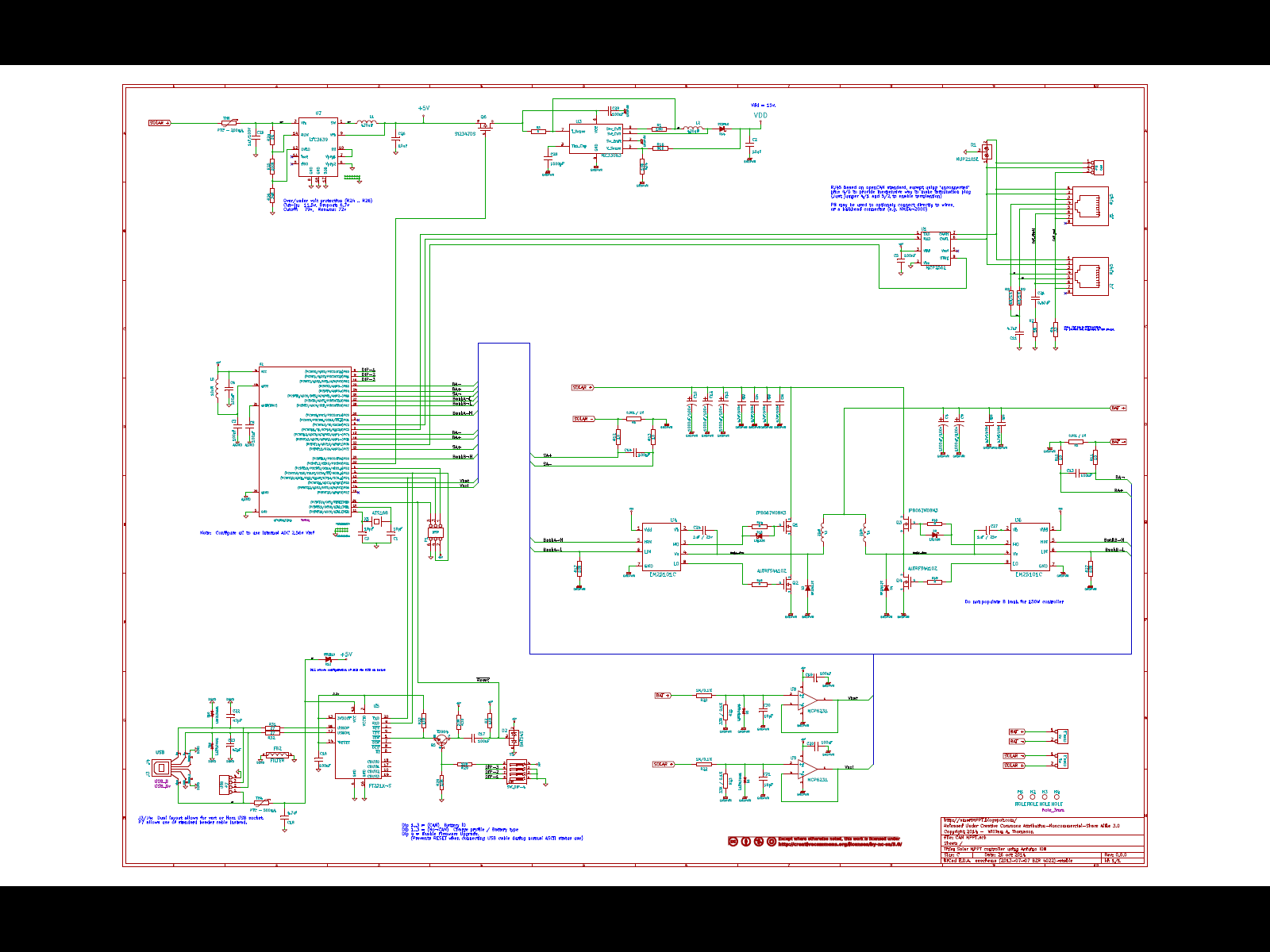 Smart Mppt Solar Controller Rought Draft 2 Of Schematic And A Circuit Diagram Click For Larger View Br Also See The Pdf Under Schematics Link Above