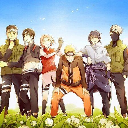 kembalinya tim 7 dari desa konoha animelovers