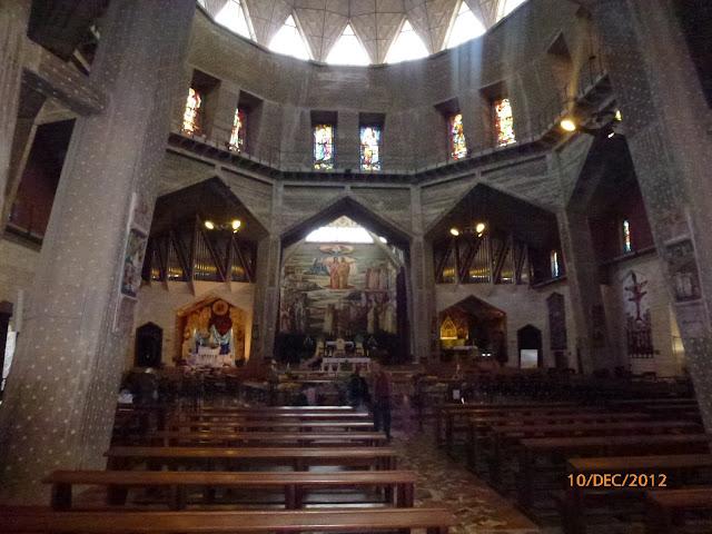 כנסיית הבשורה בפנים
