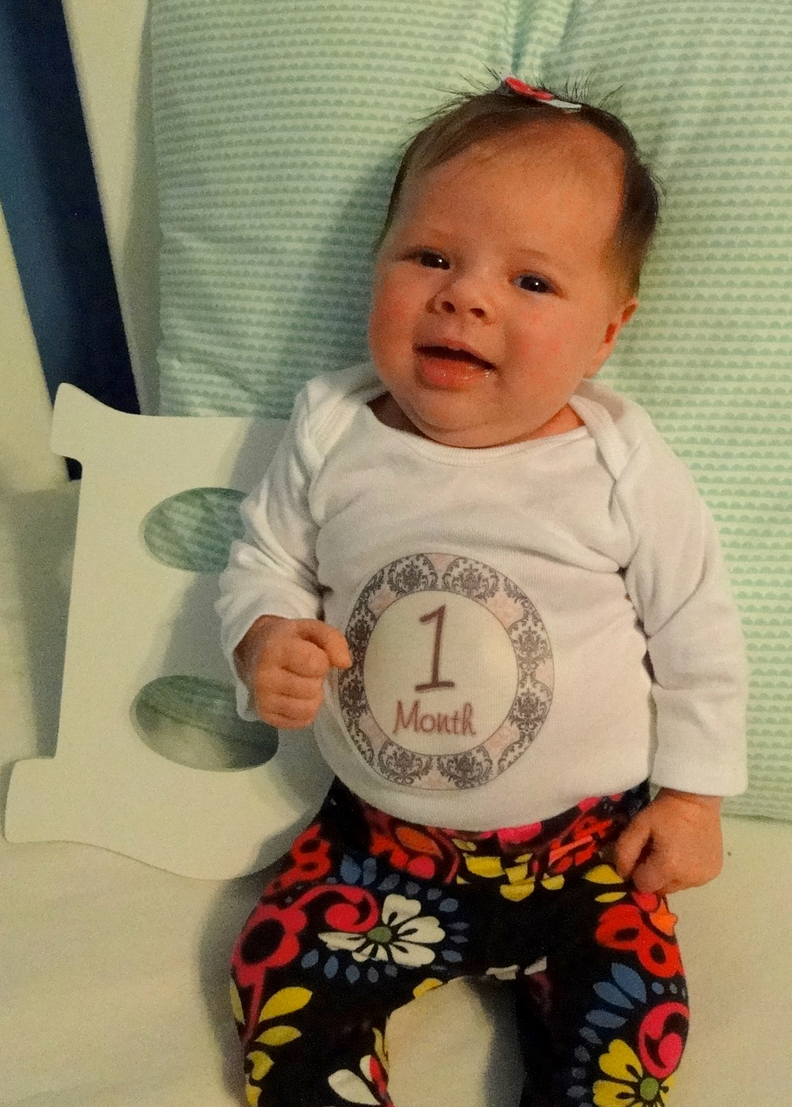Britt ~ One Month Old!
