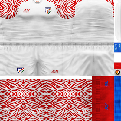 PES 6 Kits India National Team Season 2018/2019 by WindowOp
