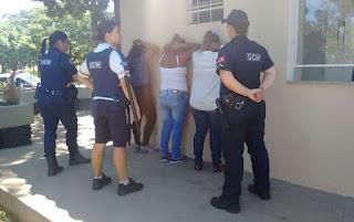 Irmãs ladras são detidas pela Guarda Municipal por furto dentro de ônibus em São José do Rio Preto (SP)