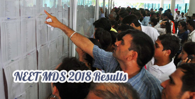neet mds 2018 result