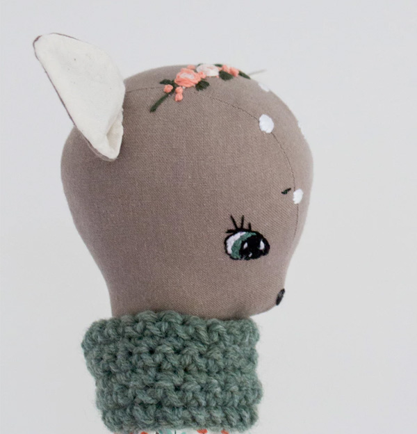 Just Acorn stuffed handmade animals