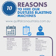 10 Great Reasons to Hire Our Dustless Blasting Machines