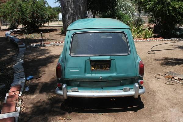 1968 Volkswagen Type 3 Squareback: 1968 VW Type 3 Squareback Project