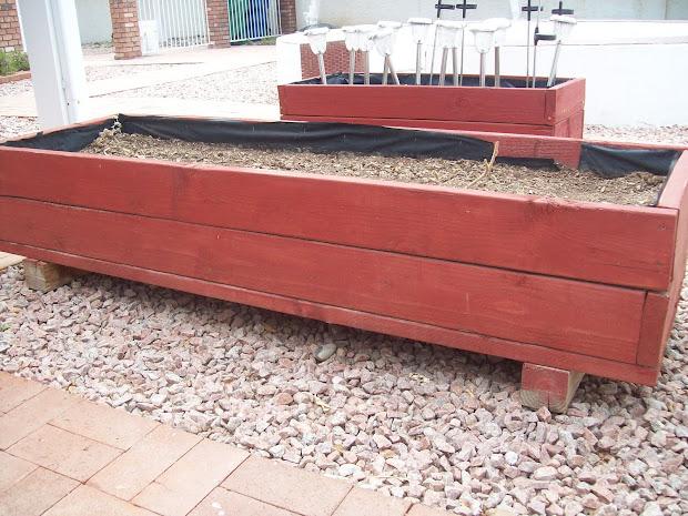 Above Ground Garden Planter Boxes