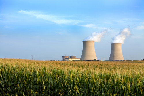 Nuclear Power Plant Response to an Earthquake