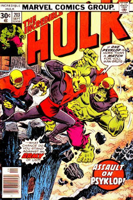 Incredible Hulk #203, Psyklop is back