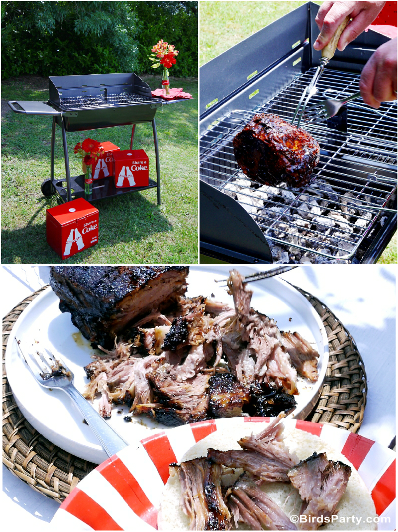 BBQ Party Pulled Pork  #ShareaCokeContest