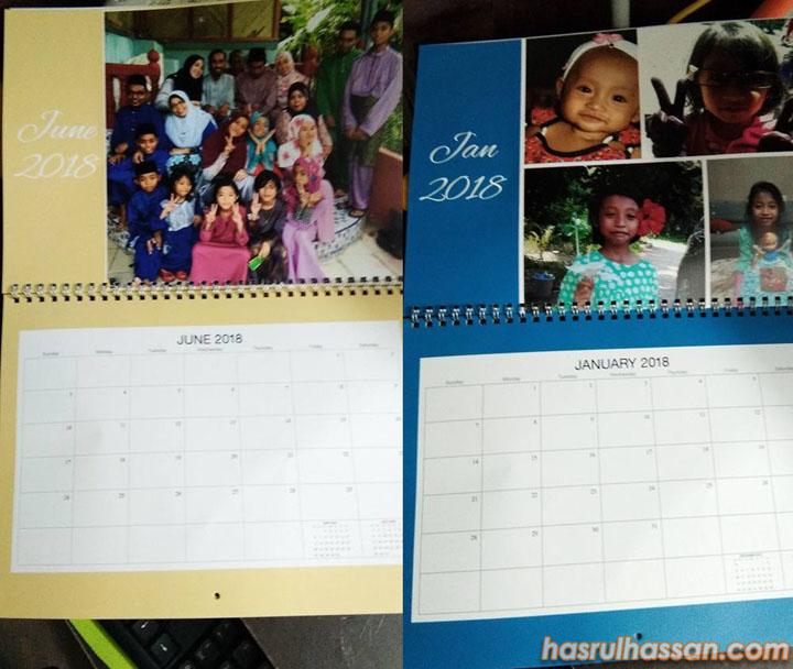 Bisnes Cenderahati Kalendar Custom-Made