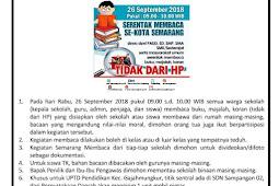 Labschool Unnes Membaca [Semarang Membaca Serentak 2018]