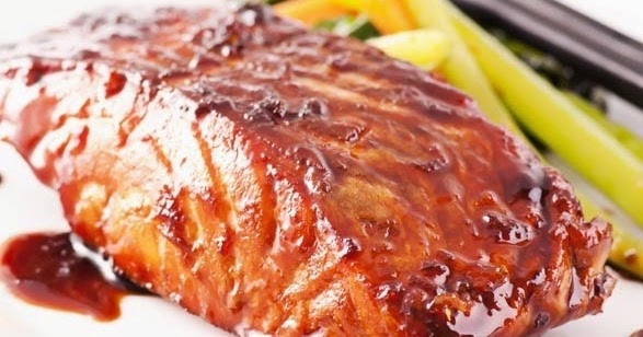 how to cook teriyaki salmon in the oven
