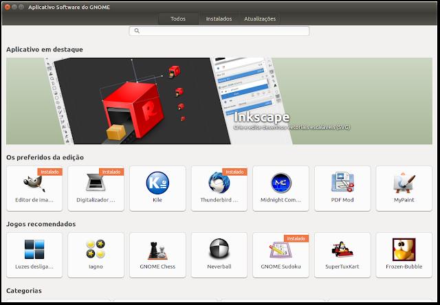 Nova Central de Programas do Ubuntu 16.04 LTS
