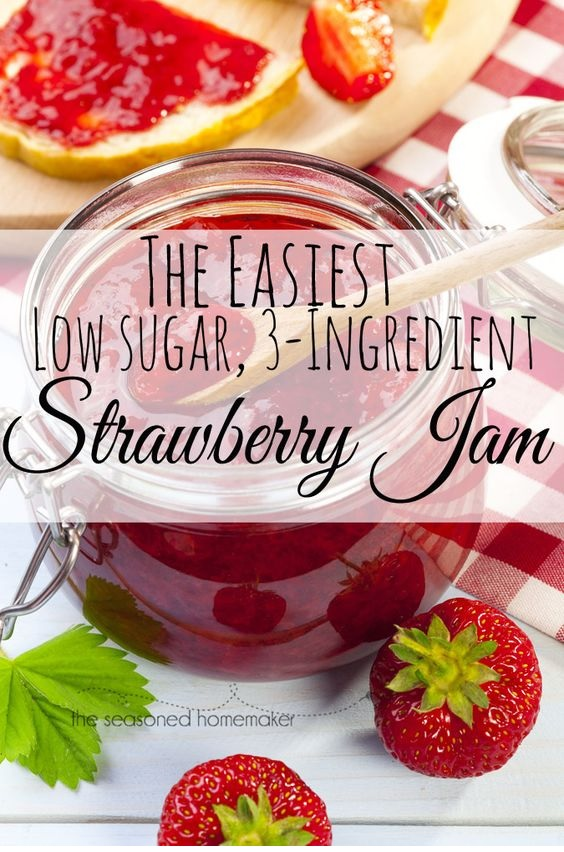 The Easiest Strawberry Jam Ever