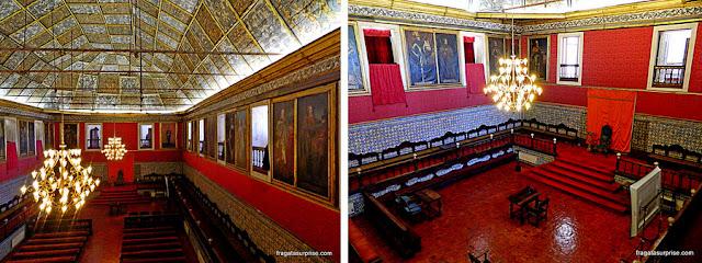 Paço das Escolas da Universidade de Coimbra, Sala dos Capelos