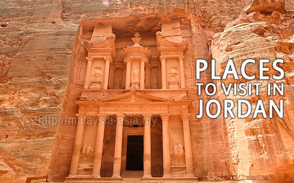 Places to Go in Jordan