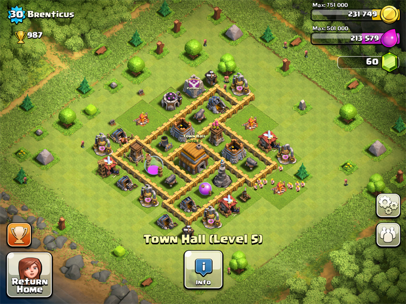 Best town hall level 5 (th5) raiding attack strategy (1300+.
