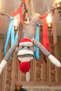 Host a Sweet, Simple Sock Monkey Birthday Party